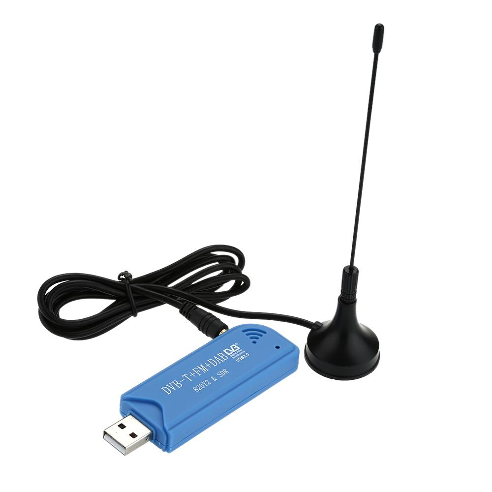NEW Digital USB 2.0 TV Stick Mini Smart TV Dongle DVB-T + DAB + FM RTL2832U + R820T2 Support SDR Tuner Receiver(China (Mainland))