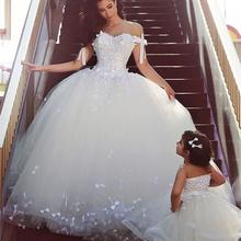 vestido de noiva curto Princess Wedding Dress Plus Size Tulle Bride Dresses Bow applique Sweetheart ball gown Wedding Dresses(China (Mainland))