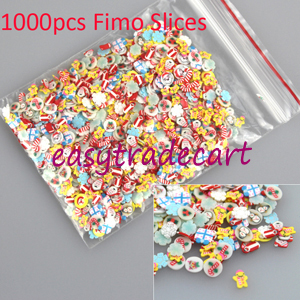 Наклейки для ногтей Brand New 1000 Fimo 3D 0405 наклейки для ногтей brand new 50 3d fimo diy n a