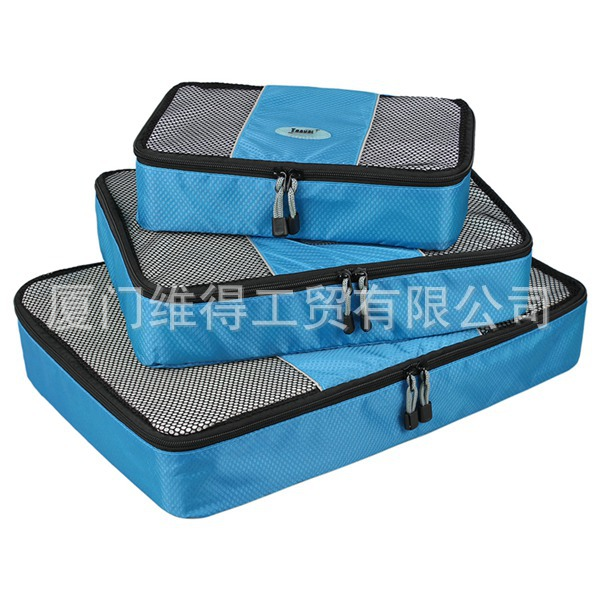 3 Pieces Packing Cube Travel Bag Organizer Set Multifunction Women Bags Hand Luggage Large Capacity Waterproof Duffle - Sailing Trading(/Drop-Shipping store)