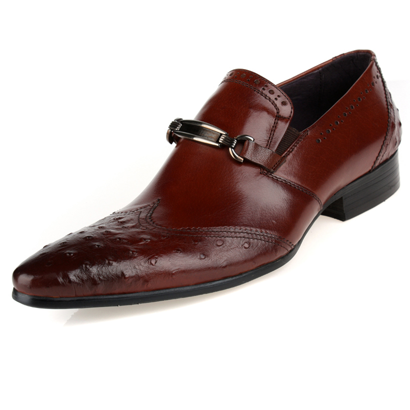 2014 men's leather Polo Mens Shoes Lace-Up Flats Sneakers business Wedding shoes Oxfords men Office & Career