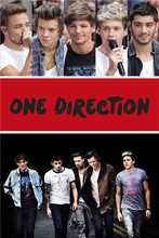 Buy PL#171 Custom One Direction 01 Home Decor modern Bedroom Wall Poster Size 40X60cm Wall Sticker Ro-720p171 for $5.99 in AliExpress store