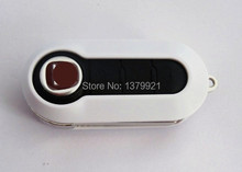 White Case key Fob Case shell fit for FIAT 500 PANDA BRAVA PUNTO STILO 3 Button Remote Flip Key