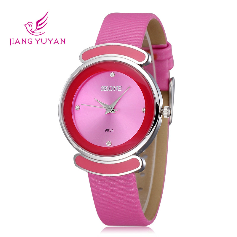 2015 Hardlex Fashion Leather Watch Women Strap Orologio Brand Skone Ladies Casual Watches Hodinky Quartz - Daybreak Technology Co.,Ltd store