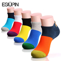 ESIUPIN New fashion casual socks men Multicolor all match male socks cotton sweat deodorant High Quality