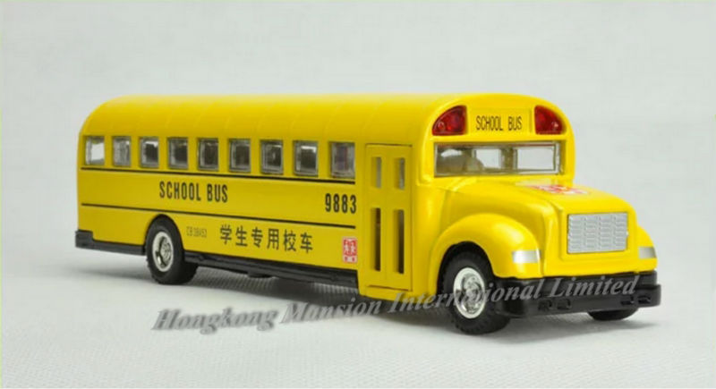 132 Car Model For Bluebird School Bus style 2 (4)