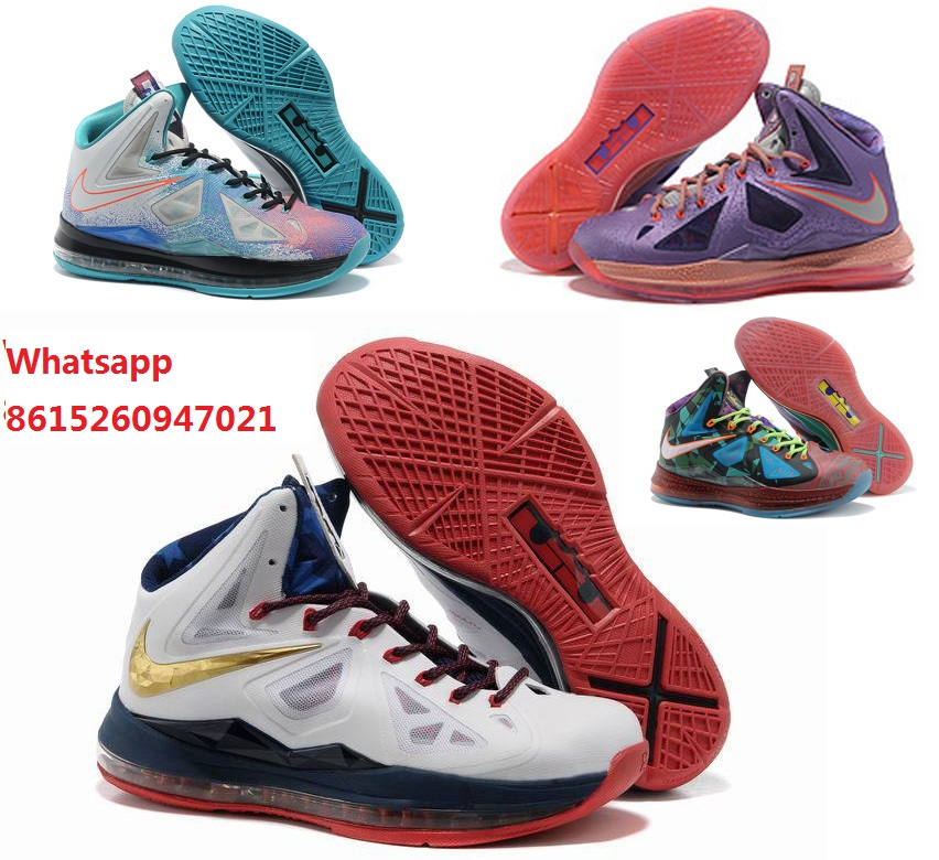 Free shipping new womens air lbj what lebron 10 x as platinum gold boots with original box for sale woman size Eur36 to Eur40(China (Mainland))