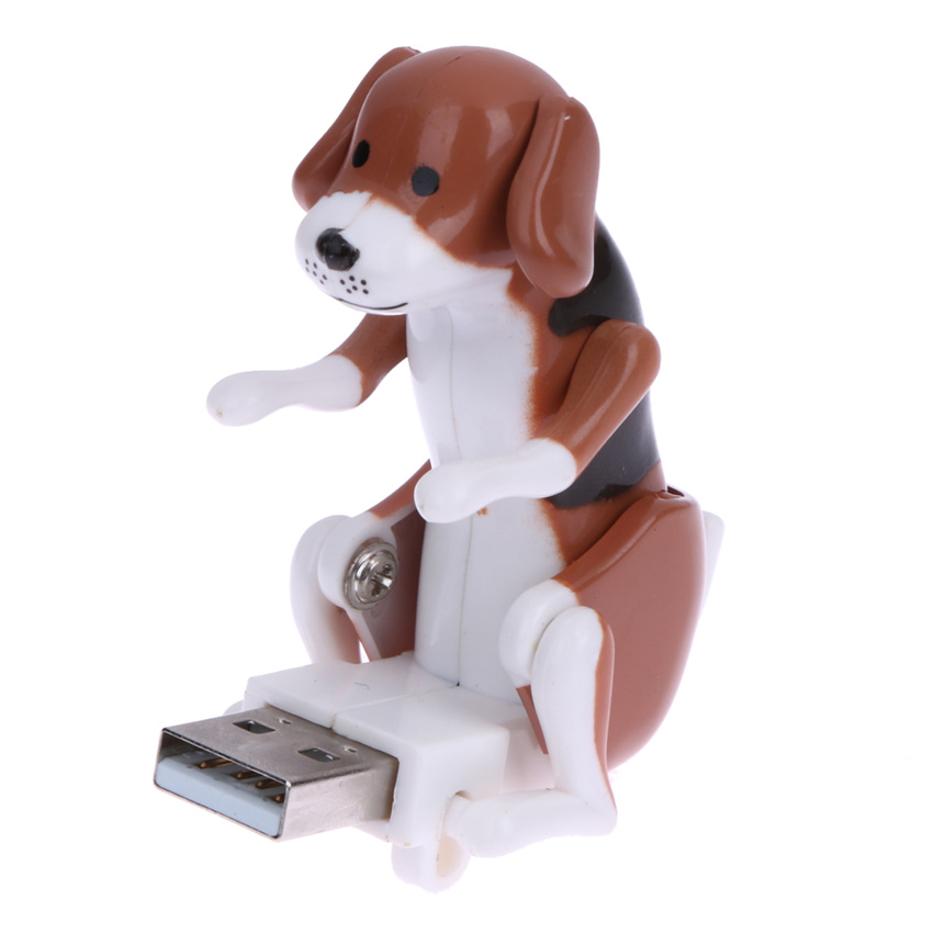Portable Mini Cute USB 2.0 Funny Humping Spot Dog Rascal dog toy relieve pressure for office worker Best gift For Festival(China (Mainland))