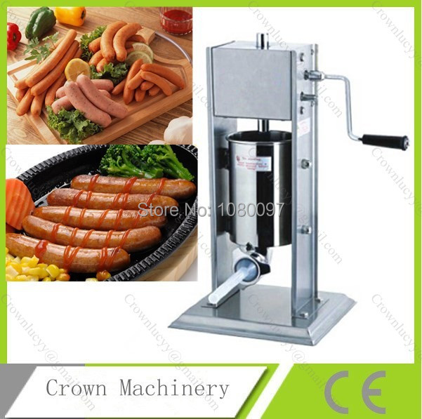 3L vertical Sausage filling machine with plastic plunger(China (Mainland))