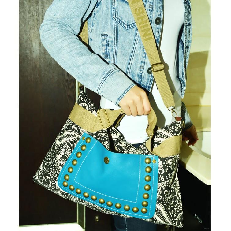 sale Retro National Style Cotton Canvas Women Handbag Messenger Bags Travel bolsos desigual Shoulder Bag Freeshipping - MISSU Bag&Clothes Design..LTD store