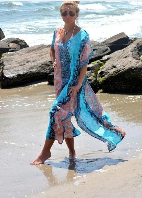 Kaftan Beach Cover-Up