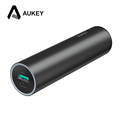AUKEY Mini 5000mAh Power Bank Lightning Input Portable Cylindrical External Battery for iPhone 7 6s 5