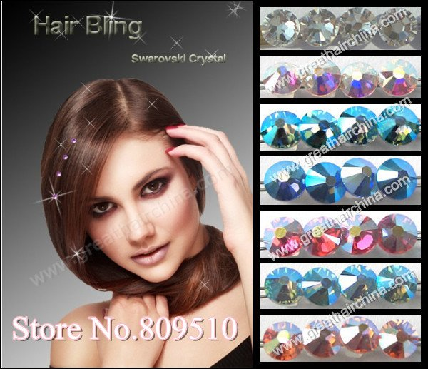 buy Weaving Wig Cap & Hair Net will get a Gift hair accessories Crystal Hair Bling IN STOCK, Free Shipping(China (Mainland))