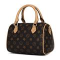 Classic Geometric Pattern Boston Bag Ladies 2016 New Fashion Elegant Handbag Luxury Designer Women Pillow shaped
