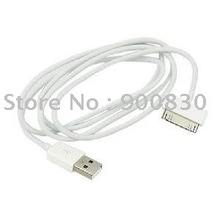 1000 pcs/lot Free Shipping USB Cable for iphone ipad white/black