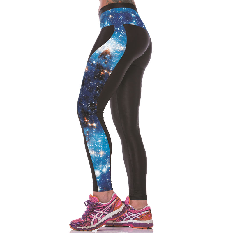 Гаджет  Multi-Color Women 3D Print Elastic High Waist Leggings Gym Yoga Running Sports Pants Fitness Pantalones Calzas Deportivas Mujer None Спорт и развлечения