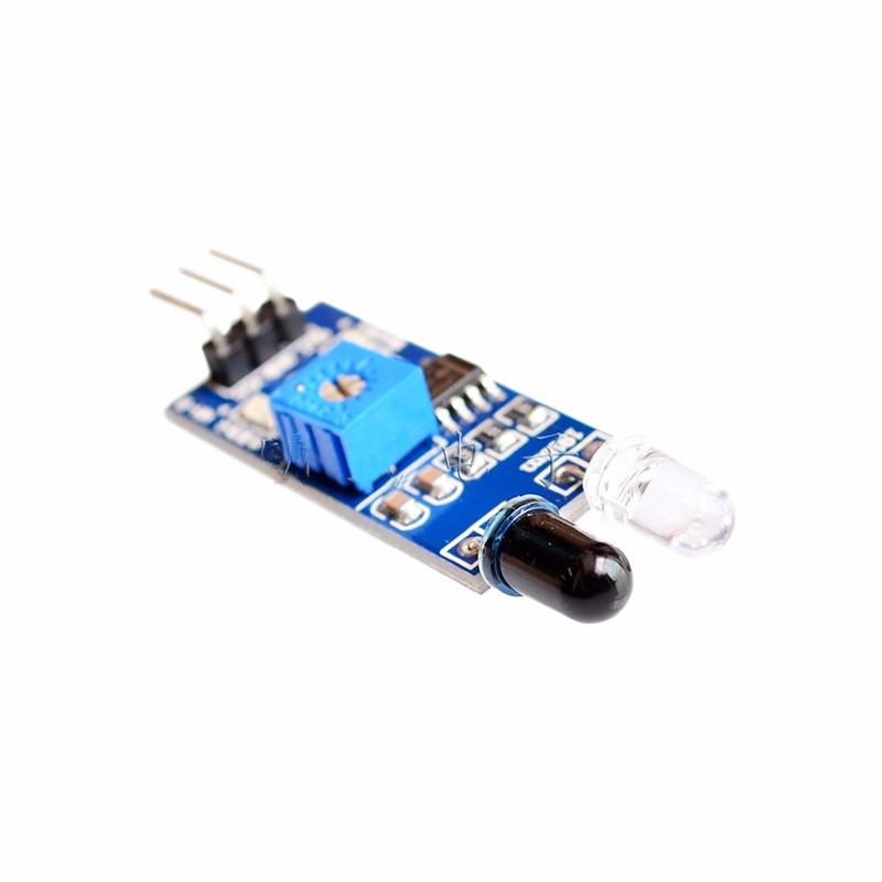 Free Shipping with track 30pcs IR Infrared Obstacle Avoidance Sensor Module for Arduino