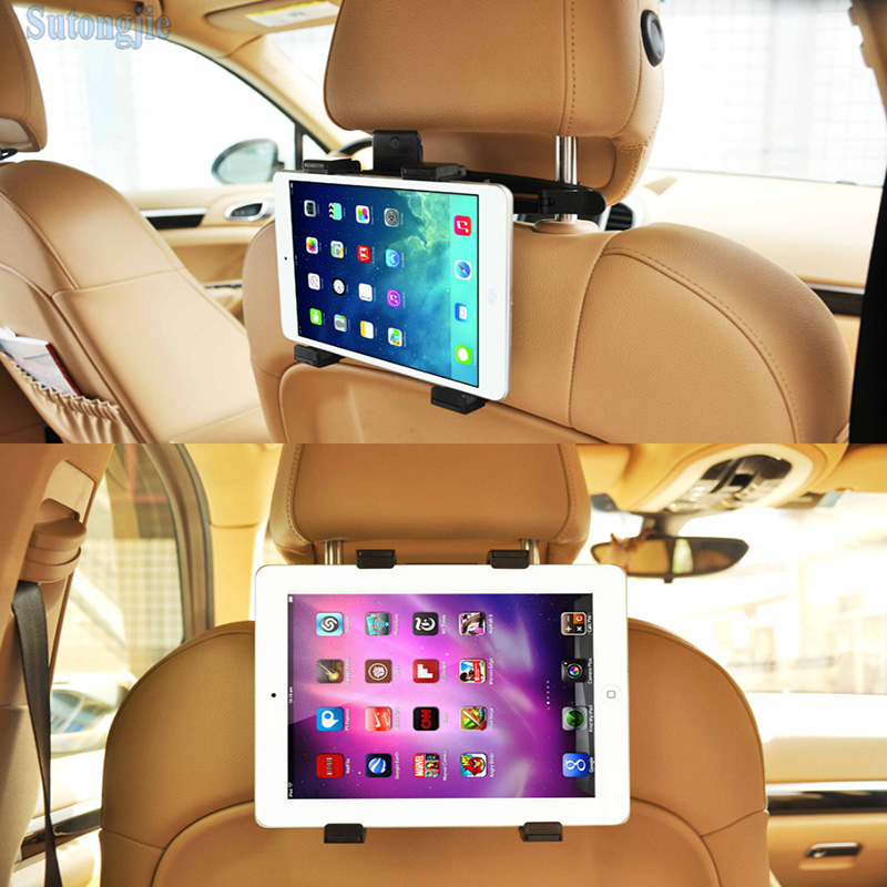 Universal Car Back Seat Headrest Mount Holder For iPad 2 3/4/5 AIR SAMSUNG Tablet PC Stands Automobile Interior Accessories(China (Mainland))