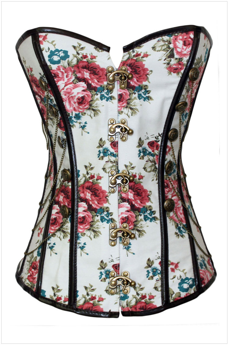 Diamond Bustier Corset Bustiers And Corsets Floral