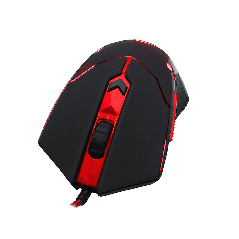 REDRAGON Max Optical Gaming Mouse 2000DPI Adjustable 6D USB Wired Mouse with Weight Tuning Set Computer Mouse for Laptop PC(China (Mainland))
