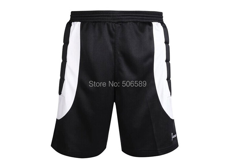 free shipping soccer jersey goal keeper shorts breathable