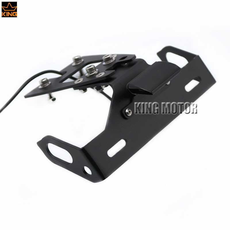 For HONDA CB1000R 2010-2015 Motorcycle Accessories Tail Tidy Fender Eliminator Registration License Plate Holder LED Light