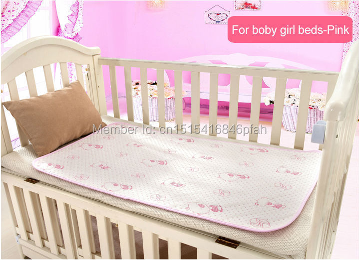 50*70cm Baby changing pads water-proof baby Diapers 4 Layer Inserts 100% Cotton Washable Reusable Bed sheet adult bedspread