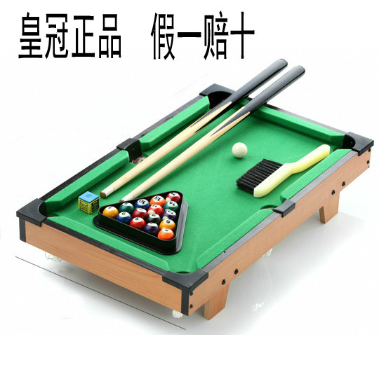 Snooker table black 8 american child snooker table toy - Small pool table ...