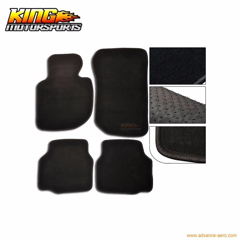 Bmw E46 3 Series 4Dr 1998-2005 Fully Tailored Black Carpet Car Mats