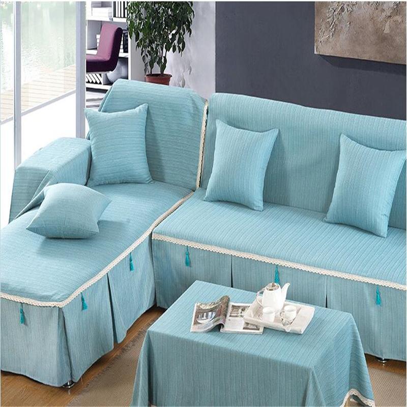 Canap avec chaise promotion achetez des canap avec for Housse pour coussin de canape