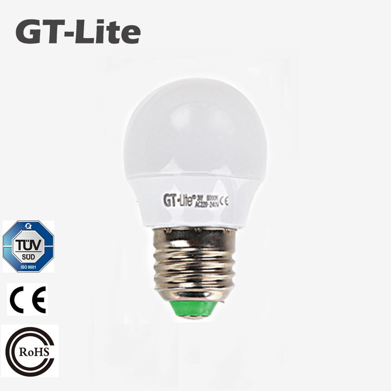 GT-Lite Led Bulb Lamp 220V E27 3W Export Germany LED Light lampada LED bombillas LED lampadas lampadas de led casa GTB3(China (Mainland))