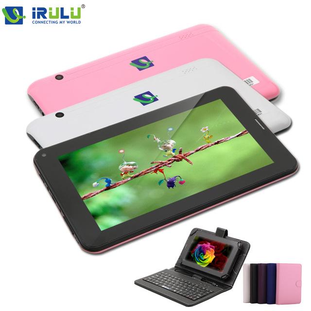 "Irulu X2c 7 "" телефон 2 г вызова планшет AllWinner A23 двухъядерный 8 ГБ ROM андроид 4.2 планшет WIFI Bluetooth камера Phablet новый горячий"