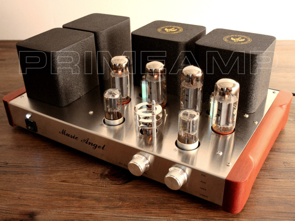 Music Angel XDSE EL34 Vacuum Class A Push-pull Tube AMP Hi-end Tube Integrated Amplifier(China (Mainland))