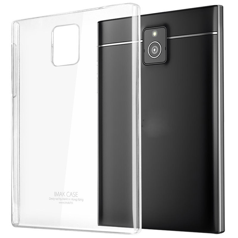 Ultra-thin Clear Crystal Soft Protective Cover Case For BlackBerry Passport Q30(China (Mainland))