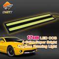 Car styling 2pcs lot DLR 17cm cob Daytime Running light LED driving car light parking lights