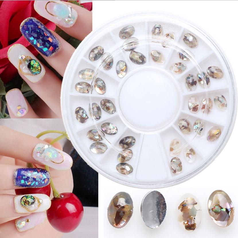 Морские камни для дизайна ногтей