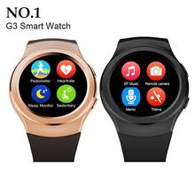 2016 новые оригинальные № 1 G3 Bluetooth MTK2502 открытый смарт часы спорт для iPhone Samsung HTC Android телефон Smartwatch