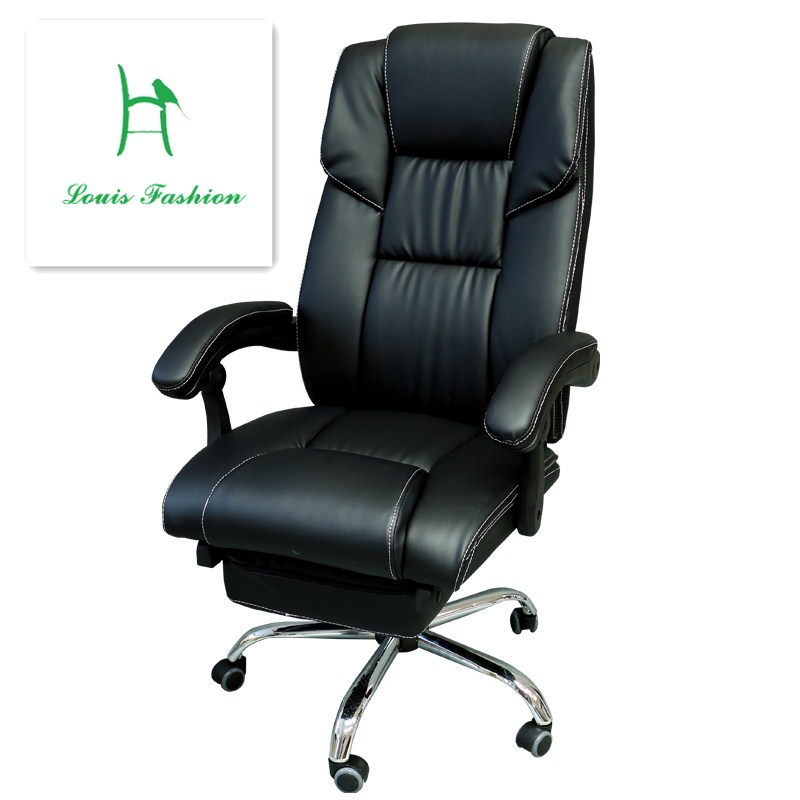 Popular luxury leather office chair buy cheap luxury for Luxury leather office chairs