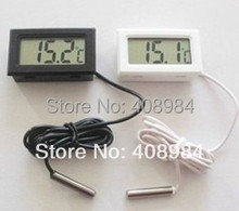 free shipping Digital Thermometer Hygrometer Fridge Freezer Temperature Humidity Meter