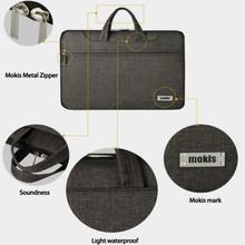Portable Laptop Bag 15.6 inch Computer Handbag Single Shoulder Briefcase for Men or Women Business Laptop Bags 2 Different Color
