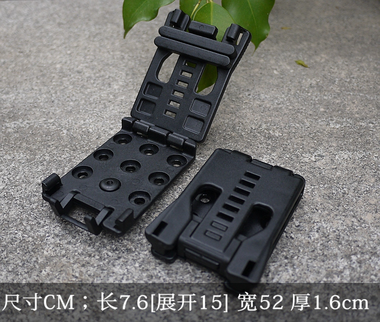EDC Gear Multifunction belt clip K sheath can use for knife with K sheath torch light