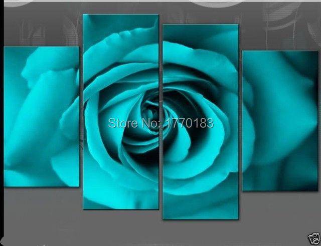 Pinturas de color turquesa compra lotes baratos de for Pintura verde turquesa