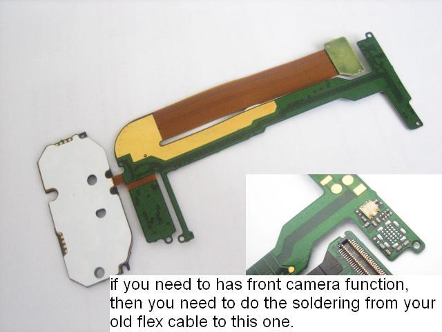 Replacement Button Keypad Flex Cable Ribbon for Nokia N95 4GB(Hong Kong)