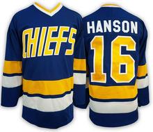 Ice Hockey Jersey Vintage Jack Hanson 16 Charlestown Chiefs Hockey Jersey Best for Winter Ice Sport Wear Wholesale Dropship(China (Mainland))