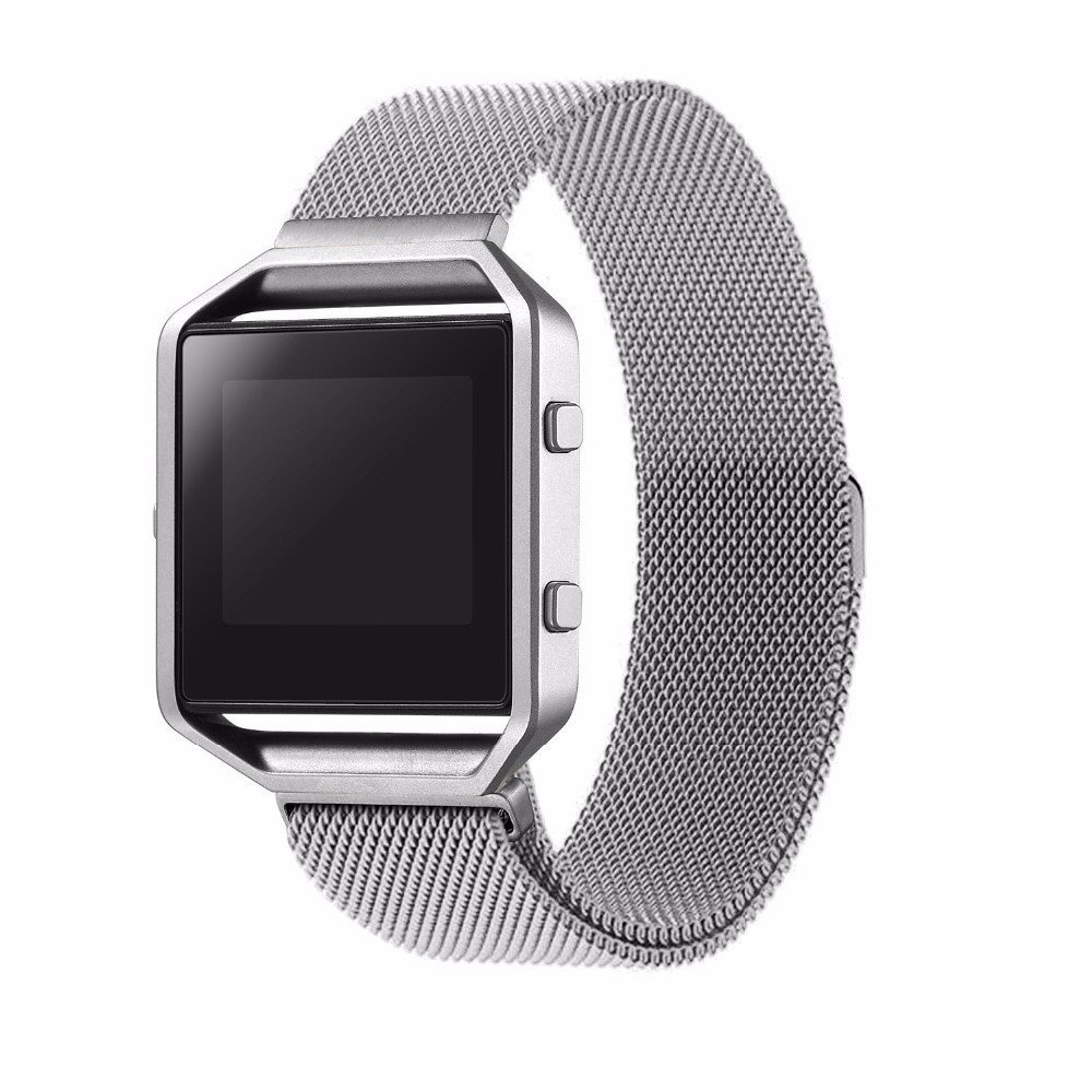 HOCO Luxury Stainless Steel Malanese Loop Watch Band for Fitbit Blaze Smart Watch<br><br>Aliexpress