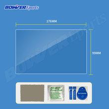 Película protectora de pantalla de vidrio templado para Asottu CDZ8060 2G android 7,1 reproductor de dvd de coche 2 DIN coche DVD GPS radio Estéreo(China)