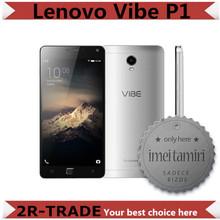 "Original Lenovo Vibe P1 4G LTE Mobile Phone Android 5.1 Octa Core 3GB RAM 16GB ROM 5.5"" 1920x1080 13.0MP Camera Quick Charge(China (Mainland))"