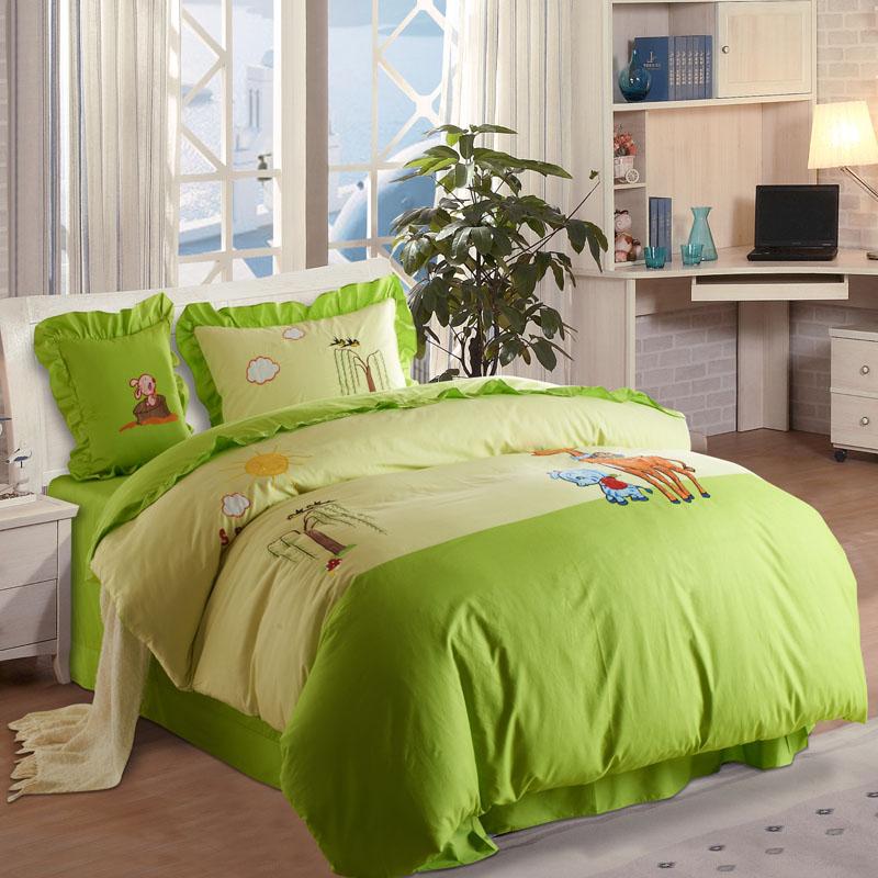 Cartoons Bedroom Sets For Teenagers : Kingart Twin Queen King Size Children Room Cartoon Bedding Set kids ...