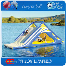 7*3m adult water slide, inflatable water slide,giant inflatable floating water slide(China (Mainland))