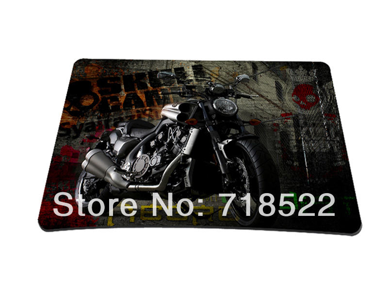 Motorcycle Anti-Slip Laptop Computer PC Mouse Pad Mice Mat Mousepad Optical Laser 10 - Guangzhou Hongtu Bags Co., Ltd. store